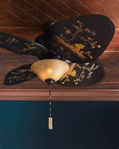chinoiserie ceiling fan asian ceiling fans by horchow