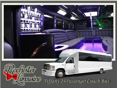 Coach Limousine Service by Wedding Transportation Rochester Mi Rochester Limousine