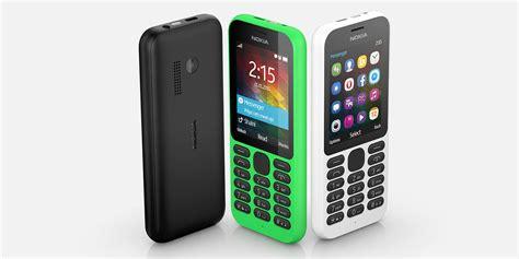 nokia new phones 2015 ces 2015 microsoft announces the nokia 215 affordable