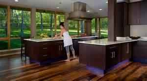 superior Dark Cabinets Dark Floors #2: modern-kitchen.jpg