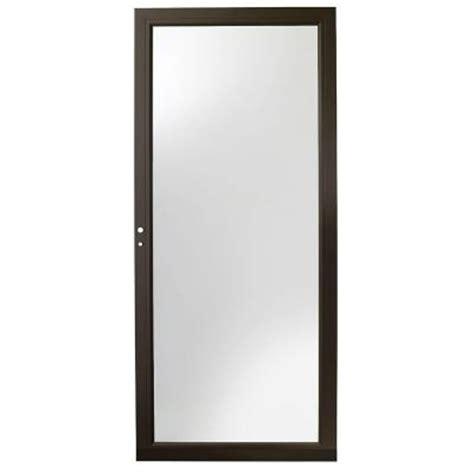 door 3000 series with low e glass andersen 36 in x 80 in 3000 series bronze view easy