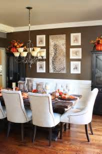 Dining Room Table Decoration by Fall Dining Room Table Decor Amp Inspiration