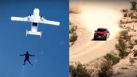 decke usa ford raptor versus parachutist top gear usa series 1