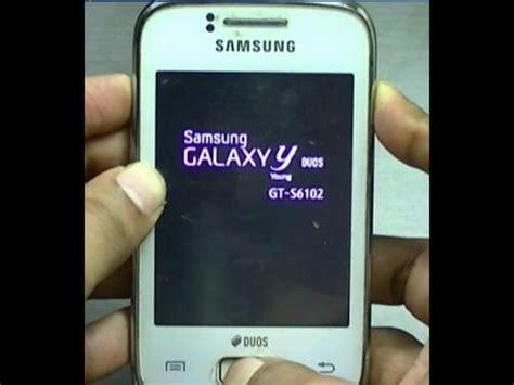 reset samsung galaxy y duos gt s6102