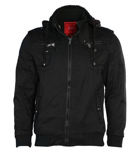 Jaket Parka Pocket Black Original maximos s sherpa lined hooded multi pocket