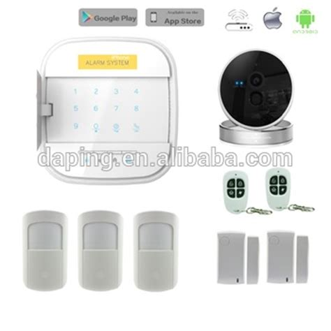 home monitoring house security wifi gsm alarm systems