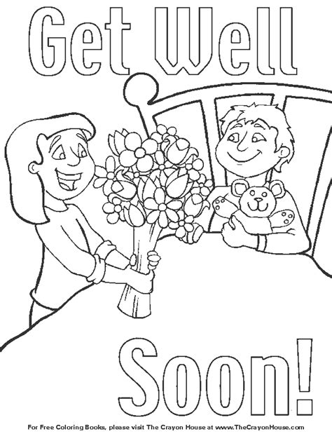 free printable coloring pages get well soon get well coloring pages az coloring pages