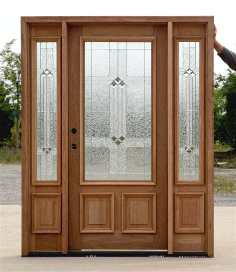 Exterior Fiberglass Doors With Sidelights Inspiring Fiberglass Entry Doors With Sidelights Design Crustpizza Decor