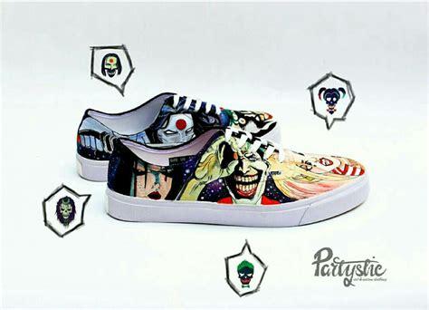 Sepatu Vans Original sepatu lukis vans authentic desain squad lukissepatuvans