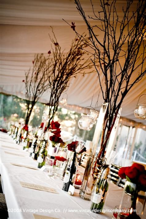 tree branch centerpieces for weddings wedding accessories ideas