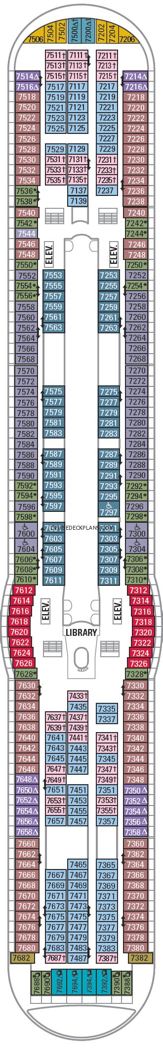 explorer of the seas floor plan explorer of the seas deck 7 deck plan tour