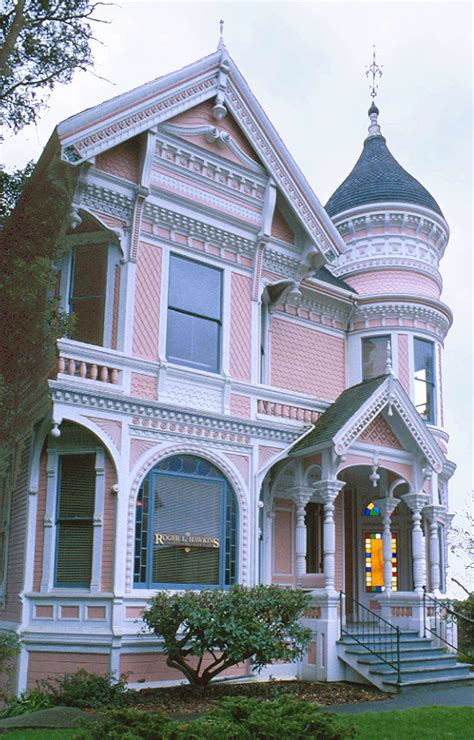 Queen Anne Victorian by Fanciful Victorian Home With Eastlake Details The