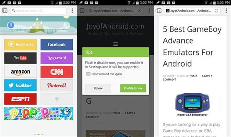next browser for android 5 fastest browsers for android