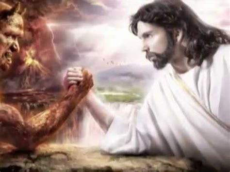 imagenes de jesucristo y satanas la pelea entre cristo y el diablo youtube