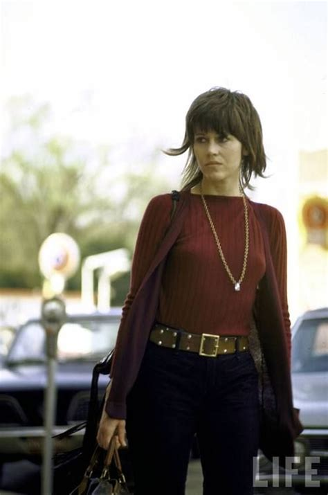 fonda 1970 s hairstyle jane fonda circa early 1970s 1970s pinterest