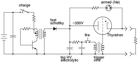 capacitive discharge firing circuit alan yates laboratory electrical ignition