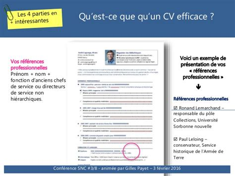 Presentation Cv 2016 by Conf 233 Rence Cv Et Lettres De Motivation Tendances 2016 Et