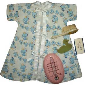 vintage baby bath thermometer with dy doll bath