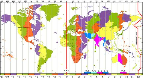 map of usa showing different time zones 2 time zones