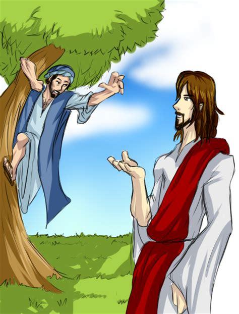 imagenes biblicas de zaqueo jesus y zaqueo by rakintor on deviantart