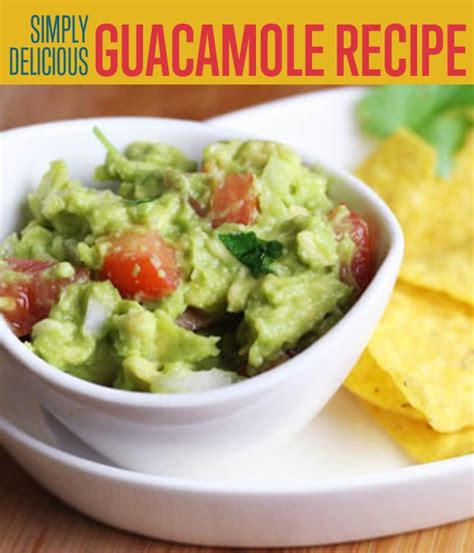 how to make homemade guacamole pico de gallo diy ready