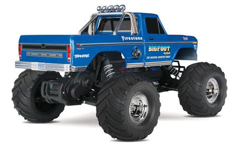 bigfoot 5 monster truck big foot no 1 original monster truck xl 5 tq 8 4v dc chg