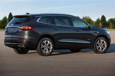 2018 buick enclave avenir look redesigned flagship