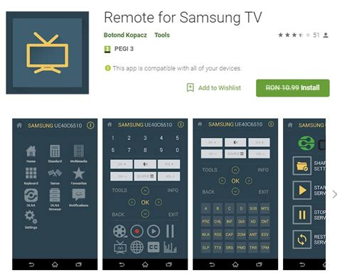 samsung remote app android remote for samsung tv android app software giveaways