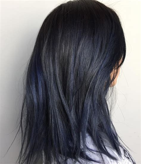 black with hair blue black hair how to get it right