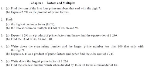 Multiples And Factors Worksheets by Factors And Multiples Worksheet Learn Mathematics