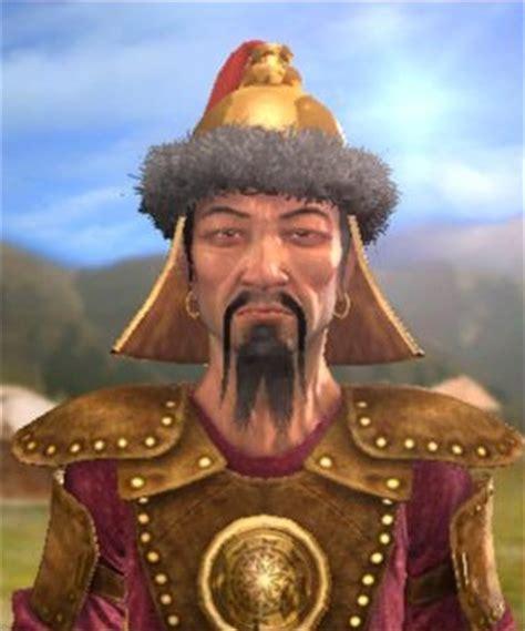 genghis khan (civ4) civilization wiki