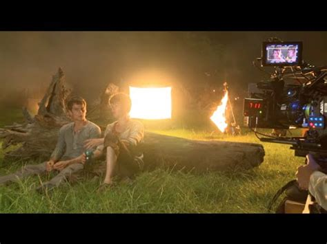 film maze runner part 1 the maze runner behind the scenes movie broll part 1