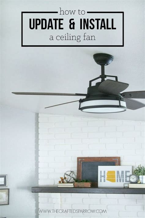 how to put up a ceiling fan 8 best images about homeowner tips on pinterest cover up