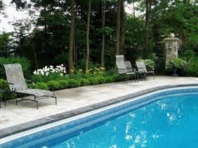 landscaping ideas around pool garden design landscaping ideas for pools