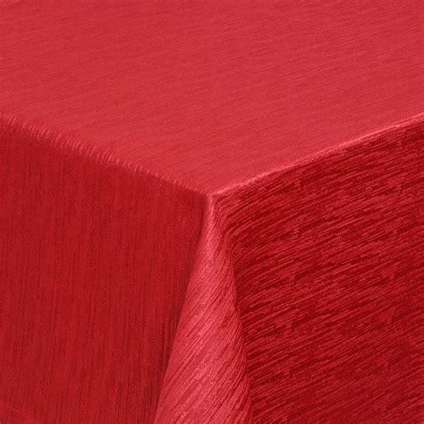 tischdecke rot tischdecke rot 140 cm rund gestreift pflegeleicht