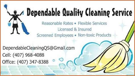 Business Card Template Free Word For Cleaners by Cleaning Services Business Cards Cleaning Business Cards