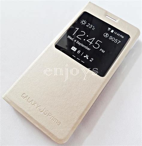 Flip Cover Samsung Prime View gold s view flip cover samsung end 3 18 2018 4 28 pm