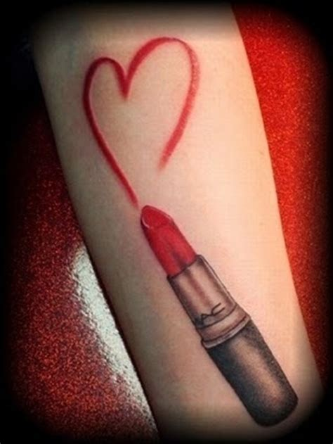lipstick tattoo designs 30 best designs