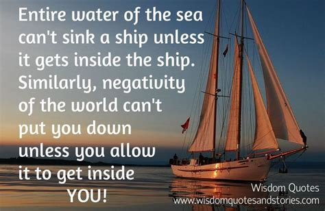 buy a boat meaning nautical quotes entire water of the sea can t sink a