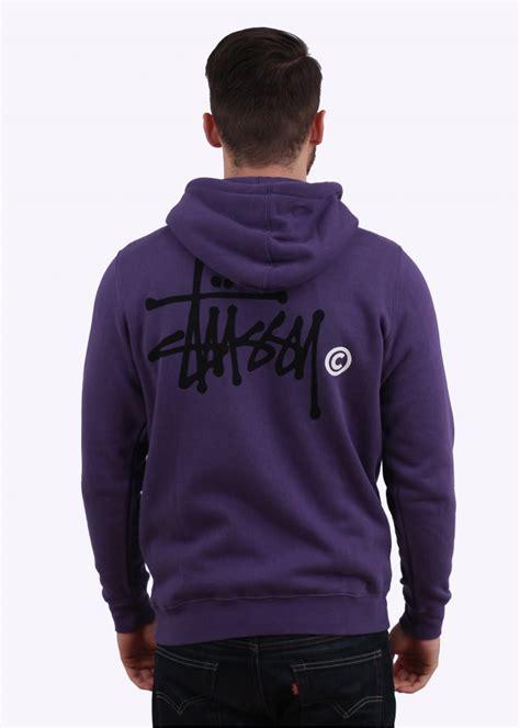 Hoodie Zipper Logo Undefeated Merah stussy basic logo zip hoody purple