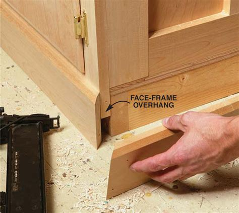 kitchen cabinet base molding aw workbench popular woodworking magazine