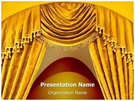 design classics powerpoint curtain curves powerpoint template is one of the best