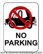parking sign template clipart best