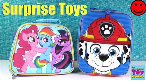 Blind Bag Toys Paw Patrol my pony paw patrol lunchbox blind bag