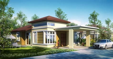 bungalow house design with terrace artistic modern bungalow house with melodramatic interior