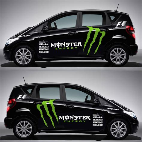 Monster Energy Aufkleber Auto by Full Car Body Decals Racing Monster Energy Car Decals