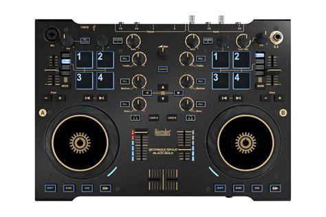 dj consol hercules dj dj console rmx 2 black gold