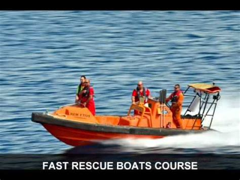fast boat rescue training fast rescue boats course youtube