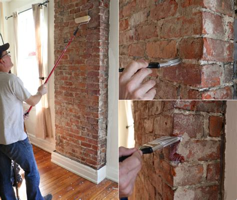Sealant For Interior Brick Walls by How To Remove Plaster From A Brick Chimney Ehow Home Ehow