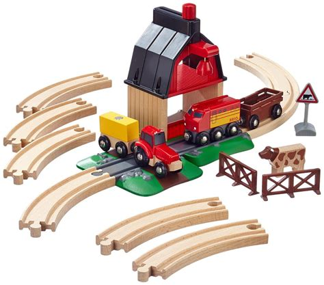 brio farm set schylling brio farm railway set brio